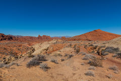 Beautiful Valley of Fire State Park Royalty Free Stock Photos