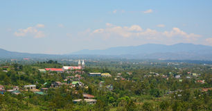 Beautiful valley in the mountains in Dalat Royalty Free Stock Images