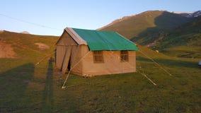 Camping at Beautiful Valley royalty free stock images