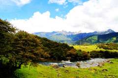 Beautiful valley Royalty Free Stock Images