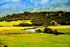 Beautiful valley Stock Image
