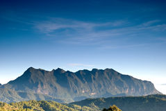 Beautiful Valley a view of Chiang Dao mountain, Thailand Royalty Free Stock Photography