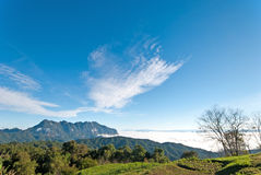 Beautiful Valley a view of Chiang Dao mountain, Thailand Stock Photography