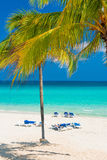 The beautiful Varadero beach in Cuba Stock Images