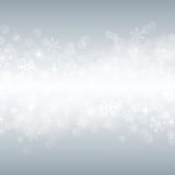 Beautiful various snowflakes. Winter background with beautiful various snowflakes Vector Illustration