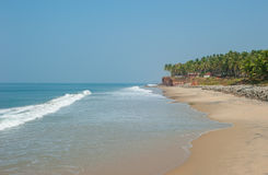 Varkala beach, Kerala, India Stock Image