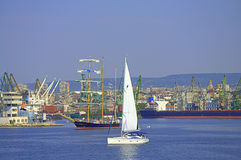 Beautiful Varna seafront view, Bulgaria Stock Photography