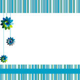 Beautiful vector background with flowers Royalty Free Stock Photography