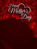Beautiful vector card design for Mother's day. Royalty Free Stock Photography