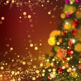 Beautiful Vector Christmas background Stock Image