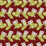 Beautiful vector christmas repeat seamless pattern vector illustration