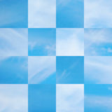 Beautiful vector cloudscape Royalty Free Stock Photo