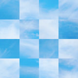 Beautiful vector cloudscape Stock Photos