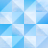 Beautiful vector cloudscape Royalty Free Stock Photos