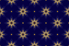Beautiful vector dark blue seamless texture Royalty Free Stock Photography