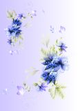 Beautiful vector floral background Royalty Free Stock Photo