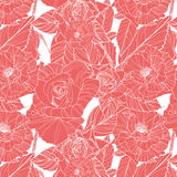 Beautiful vector floral seamless pattern Royalty Free Stock Photo