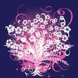 Beautiful vector flower design. A beautiful vector flower design Stock Image