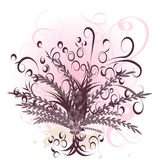 Beautiful vector flower design Royalty Free Stock Photo