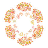 Beautiful vector flower drawn by hand. Perfect floral card templ Stock Photography