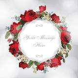 Beautiful vector greeting card Royalty Free Stock Images