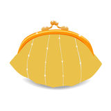Beautiful vector purse Stock Images