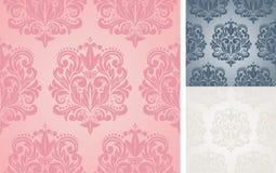 Beautiful vector seamless damask pattern. Stock Photo