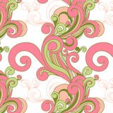 Beautiful vector seamless pattern Stock Images