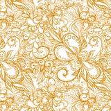 Beautiful vector seamless pattern Royalty Free Stock Photo