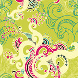 Beautiful vector seamless pattern Royalty Free Stock Photos
