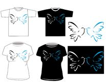Beautiful vector t-shirt desig Royalty Free Stock Image