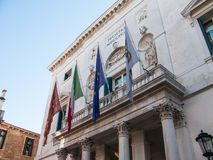 Beautiful venetian architecture Stock Photography