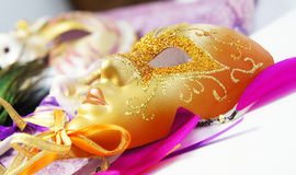 Beautiful Venetian carnival masks Royalty Free Stock Photo
