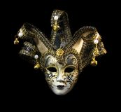Beautiful Venetian Mask Stock Photography