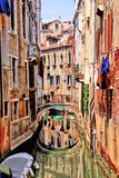 Beautiful Venice canal Stock Photo