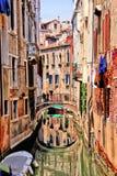 Beautiful Venice canal Stock Photo