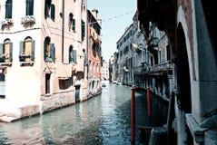 The beautiful Venice in the Cannaregio district stock photo