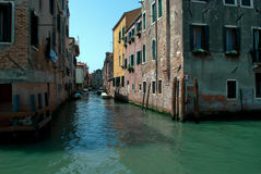The beautiful Venice in the Cannaregio district royalty free stock photo
