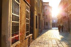 Beautiful Venice. And it's suns stock photo