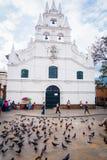 Beautiful Veracruz church in Medellin city Stock Image