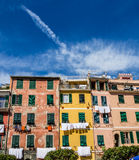 Beautiful Vernazza village in Cinque Terre National Park, Italy Royalty Free Stock Photography