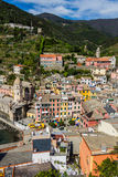 Beautiful Vernazza village in Cinque Terre National Park, Italy Stock Photo