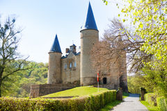 Beautiful Veves Castle view during sunny day Stock Photos