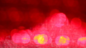 A beautiful vibrant  defocused  abstract background with bokeh stock footage