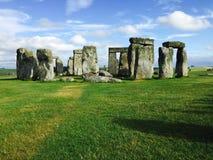Stonehenge. Beautiful Vibrant Picture of Stonehenge stock photo