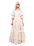 Beautiful Victorian Woman Royalty Free Stock Photography