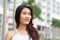 Beautiful Vietnamese woman Royalty Free Stock Photo