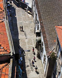 Beautiful view from above of the Porto city, Portugal Royalty Free Stock Photo