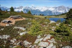 Beautiful view along trekking trial Royalty Free Stock Image