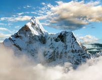 Beautiful view of Ama Dablam Royalty Free Stock Image